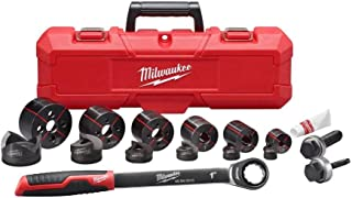 Milwaukee 1/2 in. x 2 in. Ratchet Knockout Set