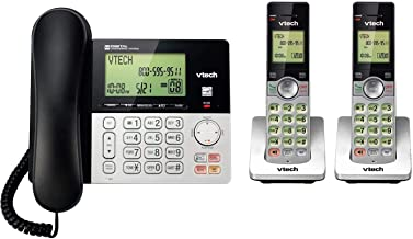 2 Handset Cordless/Corded Digital Answering System photo