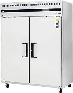 Everest ESWF2 Swing Solid Freezer, Two Wide Door, 59L x 32W