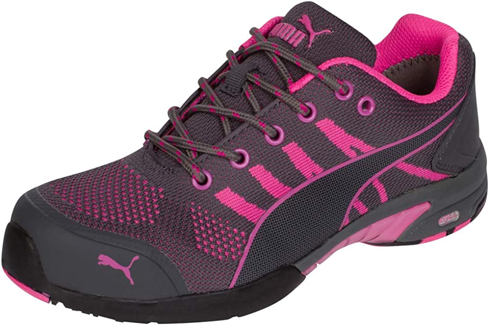 PUMA Safety Celerity Knit WNS Low ASTM SD Safety Shoes Safety Toe Metal Free Steel Toe Cap Slip Resistant Women