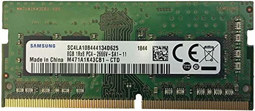 Samsung 8GB DDR4 2666MHz RAM Memory Module for Laptops (260 Pin SODIMM, 1.2V) M471A1K43CB1