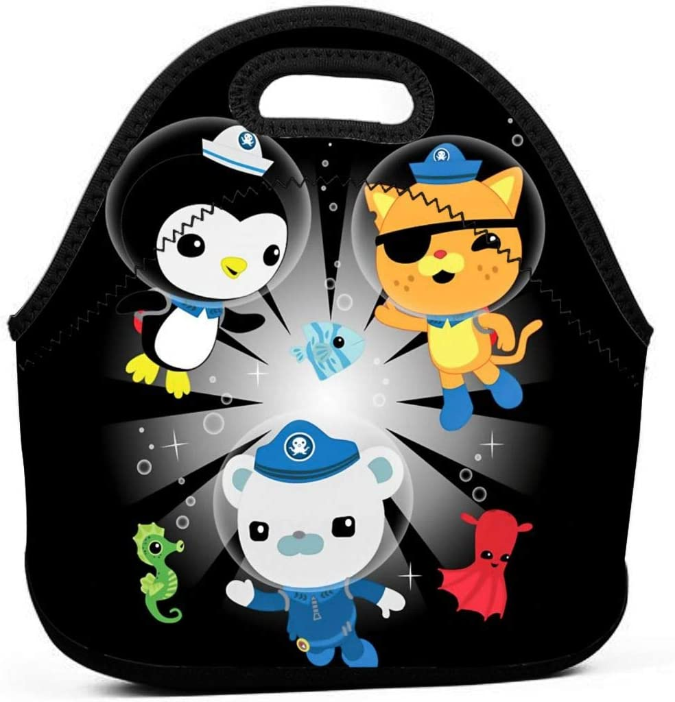 Neoprene Max 60% OFF Waterproof Portable Lunch Bag Box Sof Now on sale Picnic - Reusable