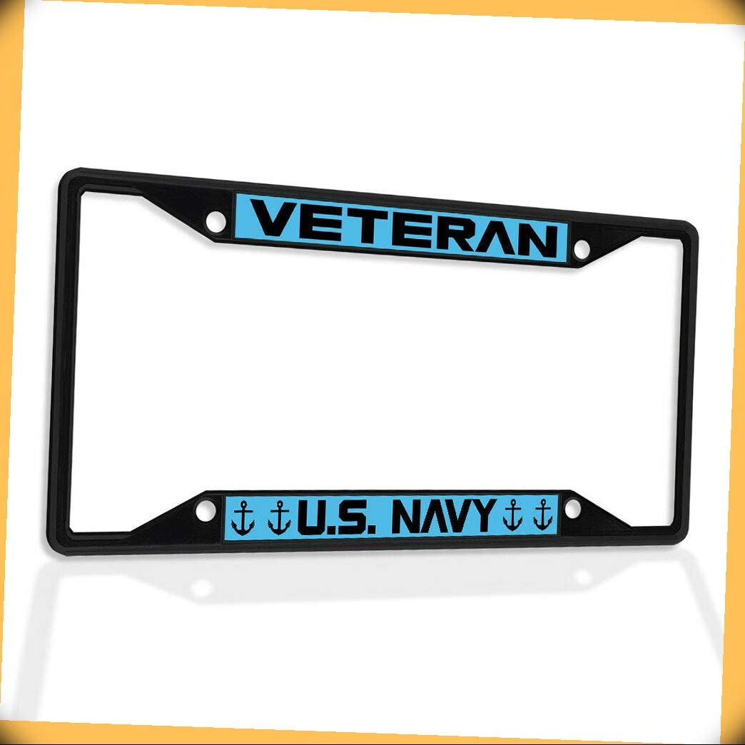 New Metal Aluminum Alloy Black B4K Insert Frame License Special ...