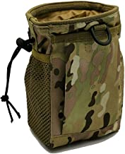 Outdoor Tactical Waist Pouch, Multi-Purpose Tool Holder Pouch Camo Bag Military Nylon Utility Tactical Waist Pack for Camping Hiking Metal Hunt Detection