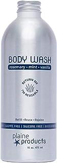 Sensitive Skin Body Wash - Rosemary, Mint, Vanilla, 16 oz (Refill Bottle)