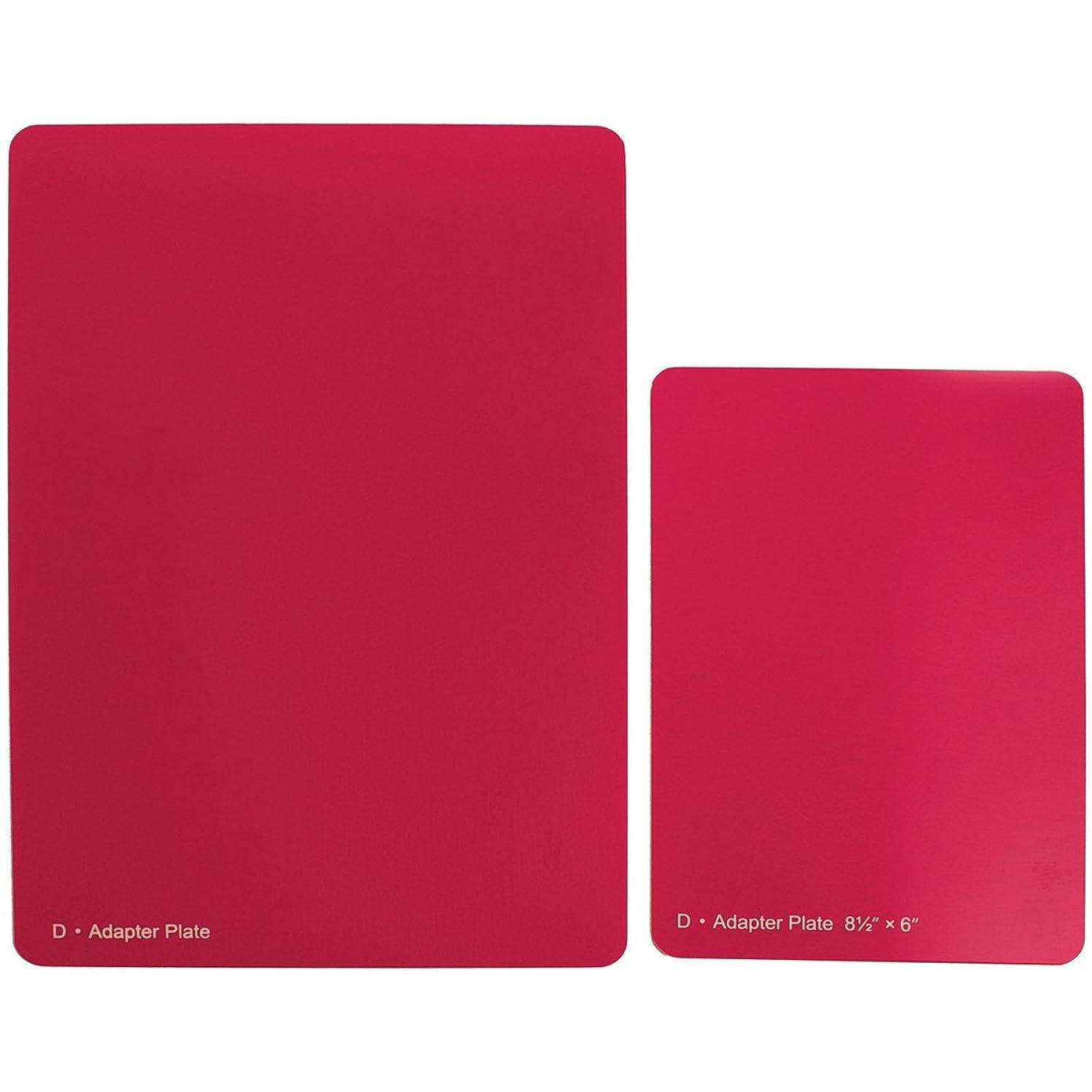 Spellbinders Grand Calibur Spacer Plate, 8.5 by 12-Inch, Raspberry