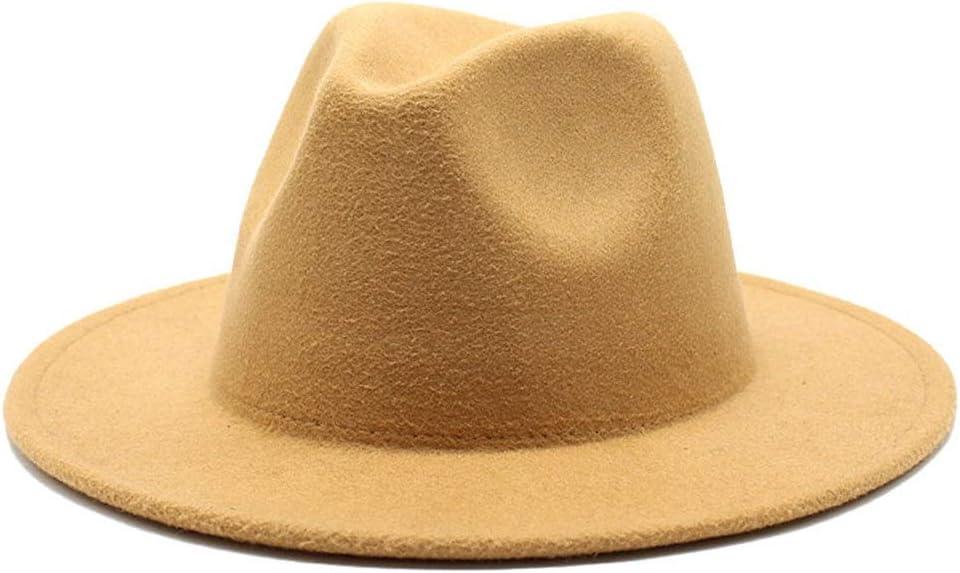 HXGAZXJQ New Price reduction 2020 Fashion Patchwork Felt Br Men's Women Hat Wide Regular dealer