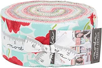Little Snippets Jelly Roll 40 2.5-inch Strips by Bonnie & Camille for Moda Fabrics 55180JR