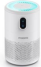 تصفیه کننده هوا MOOKA برای اتاق بزرگ منزل تا 430 فوت² ، H13 True HEPA فیلتر تصفیه هوا ، از بین برنده بو ، حذف 99.97٪ آلرژی دود گرد و غبار قالب گرده حیوان خانگی ، نور شب (موجود برای کالیفرنیا)