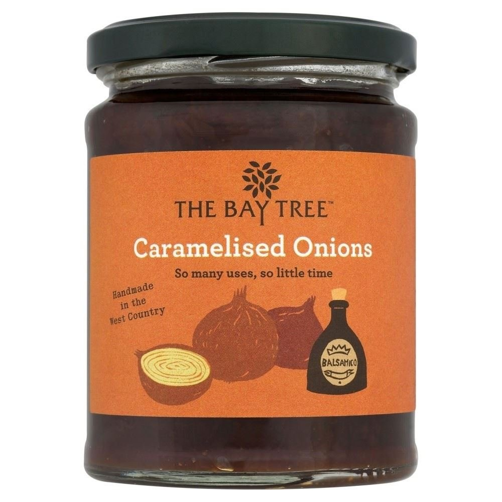 The Weekly update Bay Tree Food Co. Caramelised Onions 310g Max 86% OFF of 6 - Pack