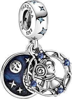 Pandora Star Wars Princesa Leia 799251C01 - Abalorio doble de plata