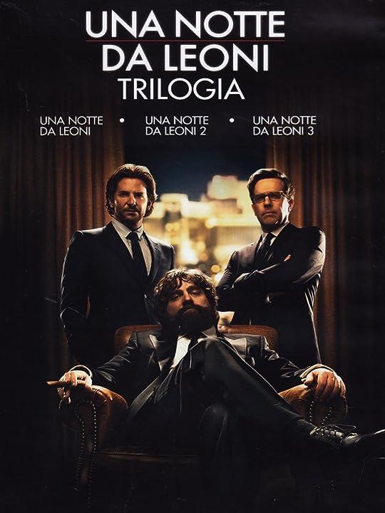 Film - una notte da leoni - trilogia - dvd warner bros B00EO87RUK