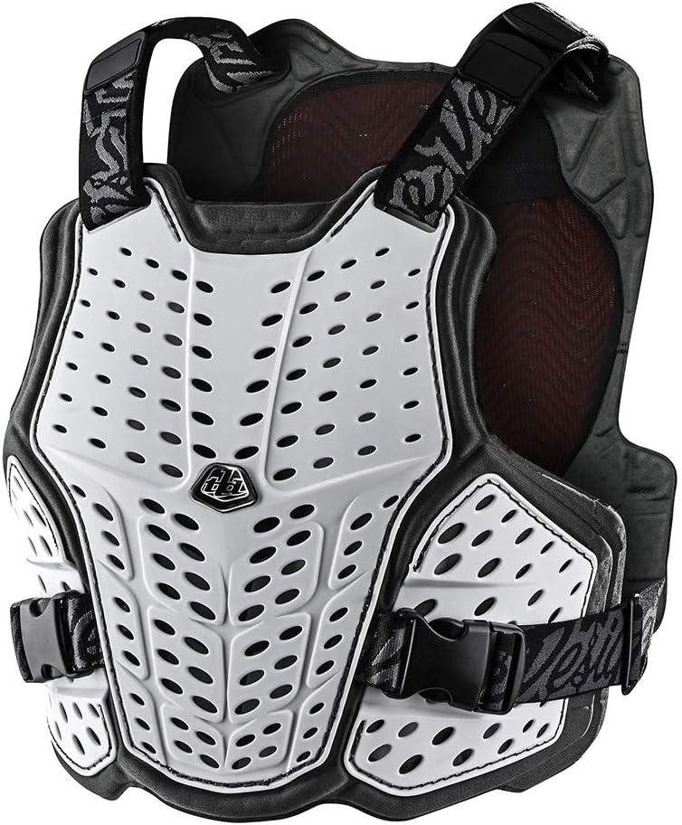 Troy Lee Designs Rockfight CE Flex Brustprotektor White Gr/ö/ße XS//S 2021 Fahrrad Schutzbekleidung