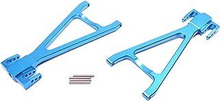 Racers Edge 1919BL Revo Aluminum Rear Lower Suspension Arm Set - Blue