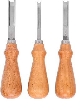 Coupeur de biseau en cuir, coupe-bordure en cuir léger pour la coupe de cuir de bricolage