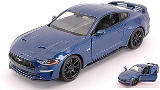 Bicaquu 1:24 Miniatura in Lega da Auto da Corsa Modello Mustang Toy Collezione di Regali Decorazione per Regali Collezione Hme Decorazione