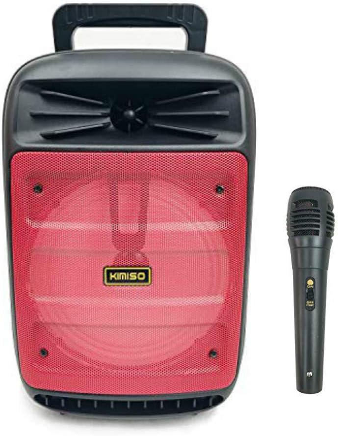 A3385-blu Altoparlante karaoke con microfono portatile ricaricabile 1200 W macchina per karaoke portatile con Bluetooth