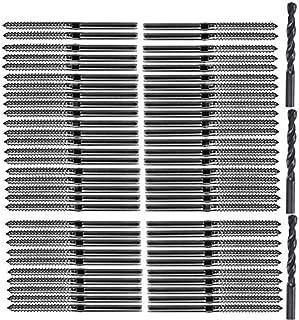 SNOWINSPRING T316 Acero Inoxidable Roscado Derecha Izquierda Roscado Tornillos FijacióN para Poste Madera 1/8Pulgadas Kit Barandilla Cable Cubierta/Cubierta Escalera,Kit Balaustre Madera Diy
