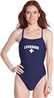 Officially Licensed Swimsuit for Women & Ladies, One Piece Lycra Swimming Suit, Elastic Comfort Straps.