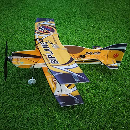 KINGDUO Mini-Biplane Hornet 400Mm Wingspan 3D ala Fija RC Avión Avión Epp D Board Indoor Outdoor F3P Kit