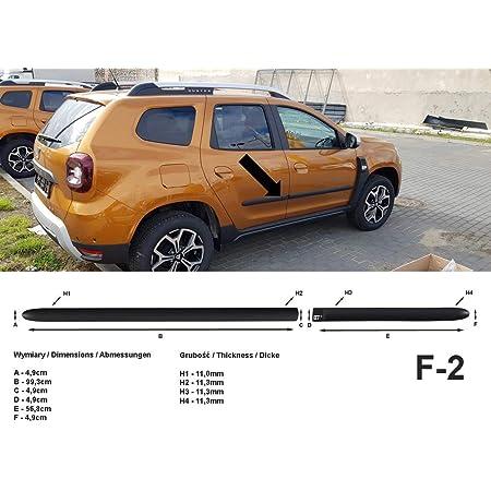 Spangenberg Seitenschutzleisten Schwarz Passend Für Dacia Duster Ii Suv 2 Generation Ab Baujahr 10 2017 F2 3700002 Auto
