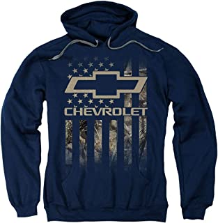 Chevrolet Camo Flag Unisex Adult Pull-Over Hoodie for Men and Women