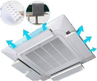 Techo Aire Acondicionado Central Deflector Deflector de Aire retráctil Longitud, ángulo Ajustable libremente, Conveniente for la Oficina (de una Pieza) (Size : 72CM)