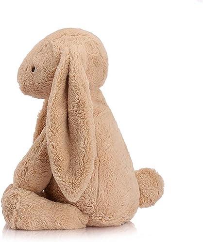 JIE. Jouets-poupée de Jouet en Peluche Lapin Mignon,marron,57cm