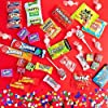 Assorted Candy Party Mix - Bite Size Fun Size And Full Size Candy Care Package with Gummies, Lollipops, Sour Patch, and More Bulk Candy for Loot Bags, Stocking Stuffer, Piñata, Party Treats - 2.5lbs, Approximately 60 Count, Individually Wrapped Perfect for Halloween #2