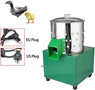 RanBB Chicken Feather Plucker Machine, Professional Poultry Depilator for Bird Chicken Quail Doves