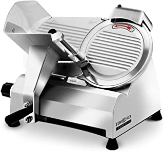 """EuroChef 320W 10"""" Blade Commercial Electric Meat Slicer Machine"""