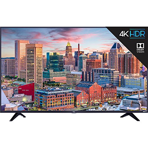 TCL 43S517 43-Inch 4K Ultra HD Roku Smart LED TV (2018 Model)