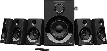 Logitech Z607 Altavoces de Sonido Envolvente 5.1 (Bluetooth, RCA, 160 W de Pico, Mando a Distancia, compatibles con Ordenadores, PC, televisores, teléfonos y Tablets) (Reacondicionado)