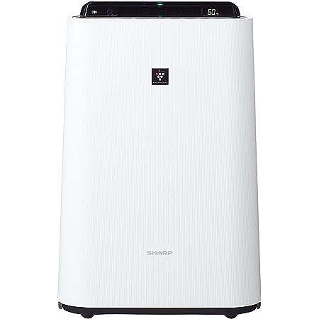 シャープ 加湿 空気清浄機 プラズマクラスター 7000 スタンダード 13畳 / 空気清浄 23畳 2017年モデル ホワイト KC-H50-W