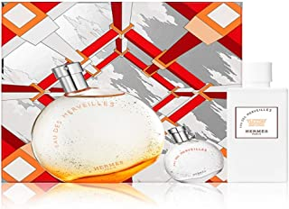 Hermes Eau des Merveilles for Women Set Eau de Toilette 100ml + Eau de Toilette 7.5ml + Moisturizing Body Lotion 80ml