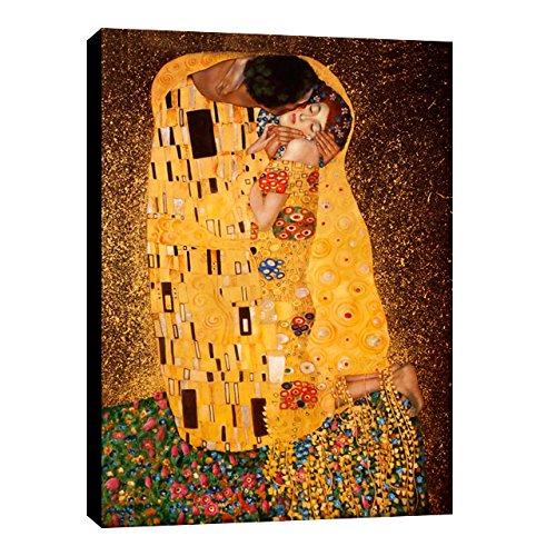 Quadro intelaiato Pronto da Appendere Klimt 18 cm 70x100 Stampa su Tela Canvas Vendita Falsi di Autore Il Negozio di Alex