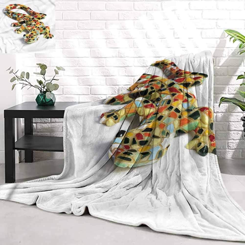 WilliamsDecor Very popular Cozy Blankets for Gaudi Genuine Kids SculpturesMiniature L
