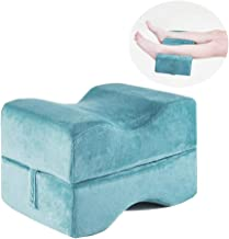 ZWYTZ Knee Pillow Detachable Multifunction Memory Foam Leg Cushion Support Ergonomic Knee Pillow for Side Sleepers Pain Relief for Leg, Pregnancy, Back, Joint and HipsLake Blue
