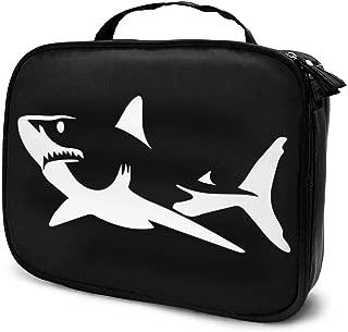 Multifunction Cosmetic Bag, Shark Portable Makeup Pouch Waterproof Travel Hanging Organizer Bag For Women Girls