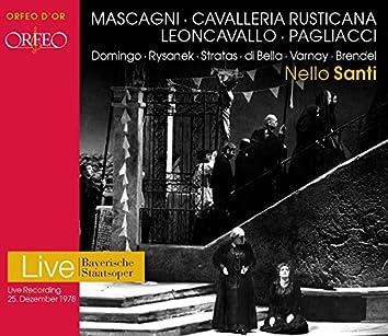 Mascagni: Cavalleria rusticana - Leoncavallo: Pagliacci