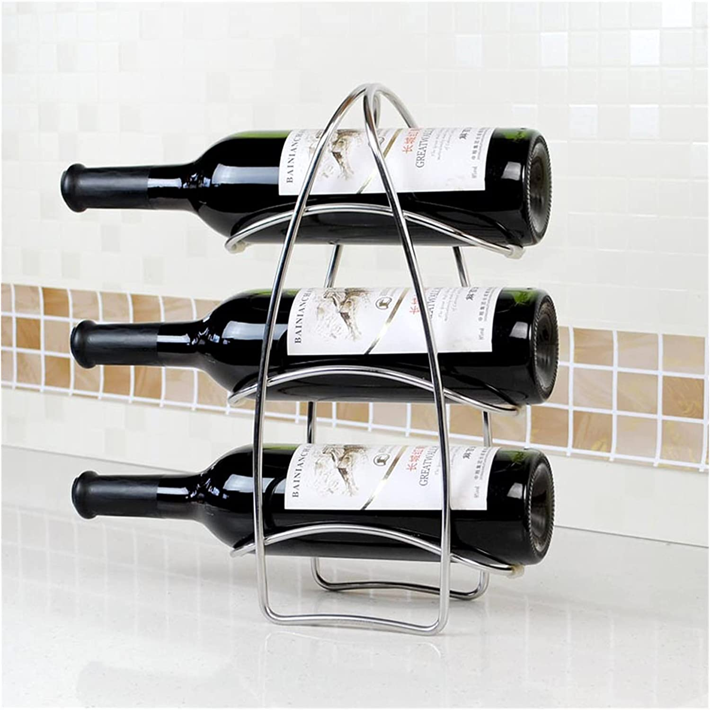 cheap Albuquerque Mall ZRJ Wine Rack Holder Countertop Storage Home Decor Modern H
