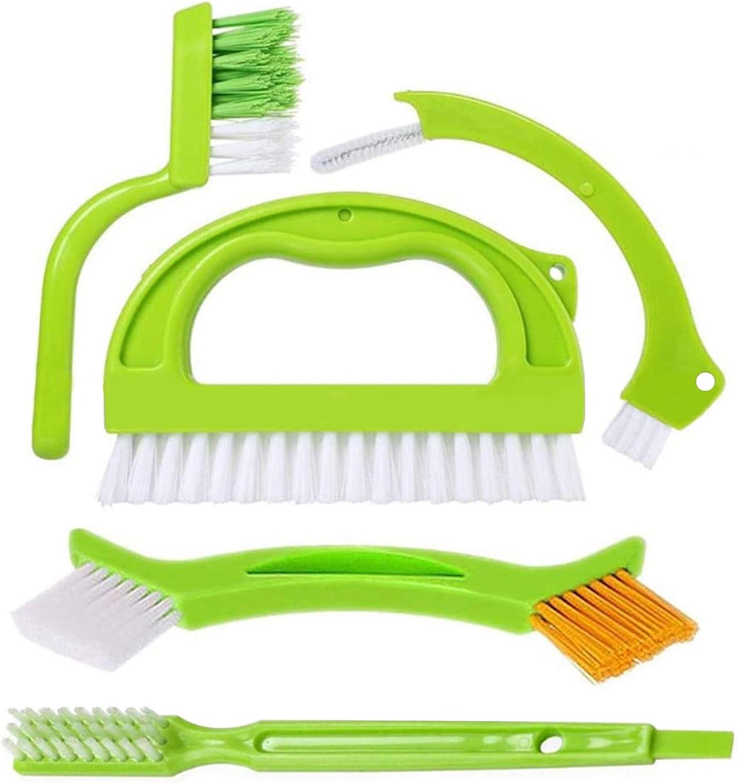 Set de Cepillo de Limpieza,5 piezas cepillo para juntas de azulejos cepillo limpiador de lechada de azulejos cepillo limpiador de lechada cepillo de limpieza de juntas cepillos limpiador de azulejos
