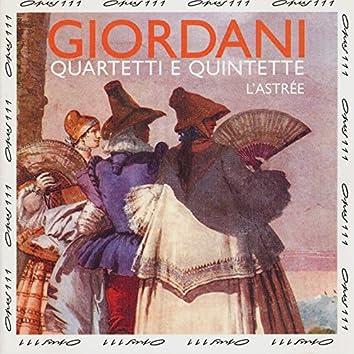 Tommaso Giordani: Quartets & Quintets