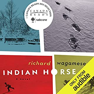 Indian Horse     A Novel              Auteur(s):                                                                                                                                 Richard Wagamese                               Narrateur(s):                                                                                                                                 Jason Ryll                      Durée: 6 h et 51 min     476 évaluations     Au global 4,8
