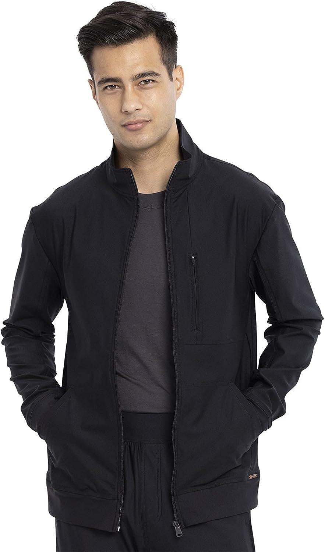 Cherokee Form Men Warm Up Rapid rise Scrubs Zip Front CK399 Jacket Milwaukee Mall
