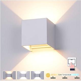 Up Down Aplique exterior antracita Moderno resistente a la intemperie E27 FLANDERN iluminaci/ón de caminos casa de jard/ín