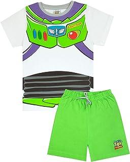 Pijamas Set Corto de Disney Pixar Buzz Lightyear Traje de Niño