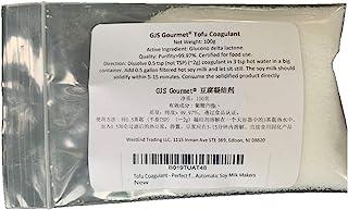GJS Gourmet Tofu Coagulant - Perfect for Making Organic Tofu Using Automatic Soy Milk Makers