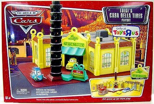 Disney Pixar voitures Luigi's Casa Della Tires Playset by Disney
