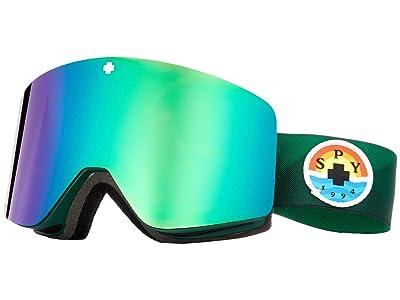 Spy Optic Marauder (Trailblazer Green/Bronze/Green/Persimmon/Silver Spectra Mirror) Goggles